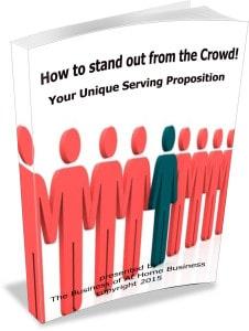 your unique serving proposition