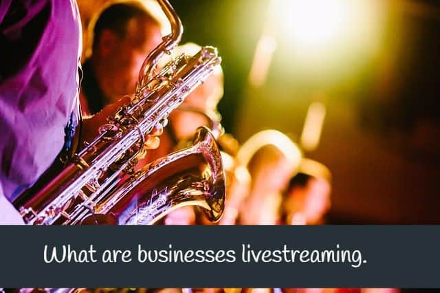 See what other businesses are doing with Livestreaming!
