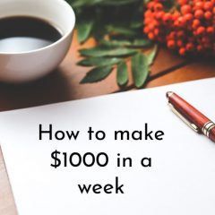 how to make a 1000